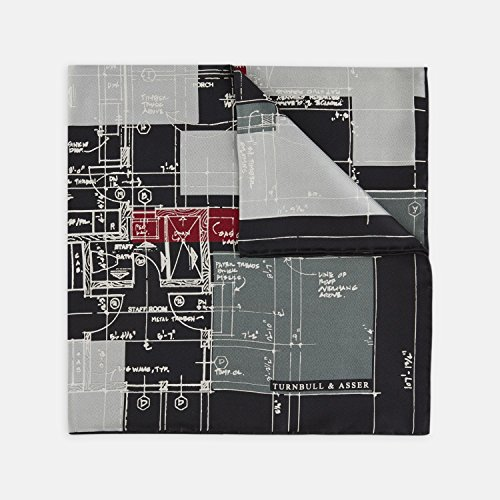 turnbull-asser-architects-plan-black-grey-and-red-silk-pocket-square-rrp-70