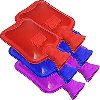 cs01385–Sure Thermo Wärmflasche Gerippter 2Seiten, 6Pack–Rot Blau Violett preisvergleich bei billige-tabletten.eu