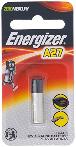 4 Energizer A27 / 27A / MN27 12 Volt Alkaline Alkali Batterien, 4 x 1-er Pack, Lange Haltbarkeit (Haltbarkeitsdatum markiert) 12v Alarm Remote-alkaline-batterie