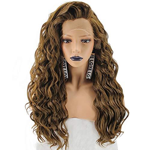 Perücken Lockenwicklern Kostüm Mit - Perücken, Perücken und Haarteile für Erwachsene, aus Leinen, klein, gewellt, lockiges Haar