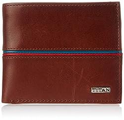 Titan Leisure Tan Mens Wallet (TW167LM1TN)