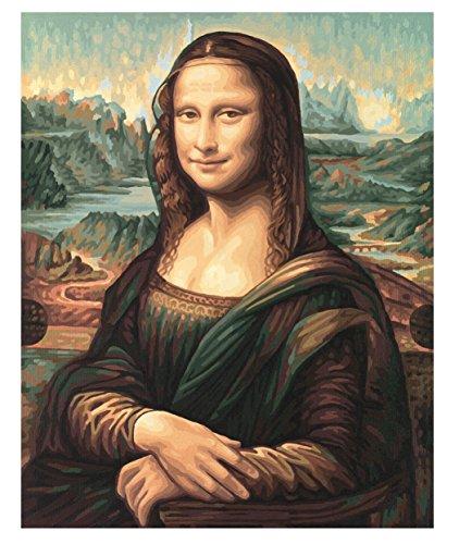 Imagen principal de Schipper 609130511  - Pintura por Números - Mona Lisa, de 40 x 50 cm [importado de Alemania]