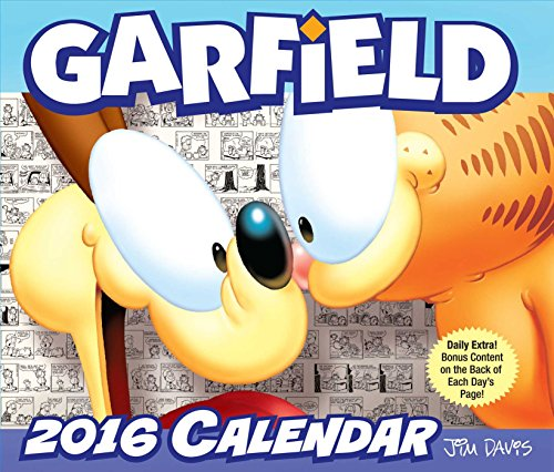 Click for larger image of Garfield 2016 Day-to-Day Calendar