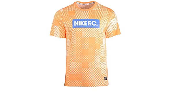 Nike M NK FC Dry Tee Ssnl Block Tricot Homme: