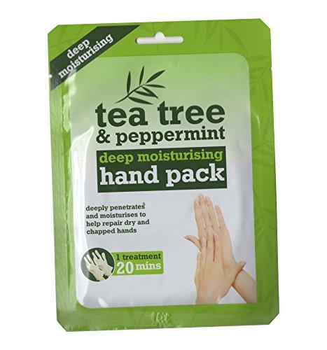 Tea Tree & Peppermint Deep Moisturising Hand Pack | Deep Moisturising Hand Treatment, [UK Import]