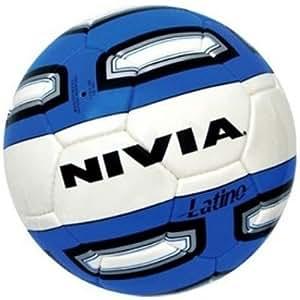 Nivia Latino Football (White/Blue)
