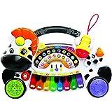 VTech Baby - Remi la cebra marchosa aprende, piano aprende música, notas e instrumentos con teclado interactivo, diferentes funciones y actividades musicales (VTech 3480-179122)