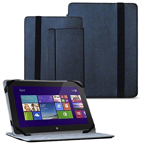 NAUC Tablet Tasche für Dell Venue 11 Pro Hülle Schwarz Cover Schutzhülle Schutz Case