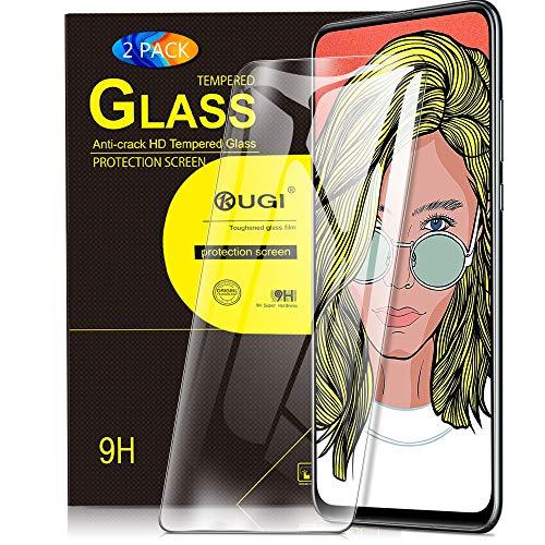 KuGi. pour Huawei P smart Z/HUAWEI Y9 Prime 2019 Protection écran, ultra Résistant Protecteur d'écran [Dureté 9H] verre trempé pour Huawei P smart Z/HUAWEI Y9 Prime 2019 (Noir)