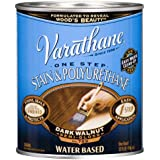 Rust-Oleum VARATHANE One Step Stain & Polyurethane for Interior Furniture & Wood Polish, Water Based