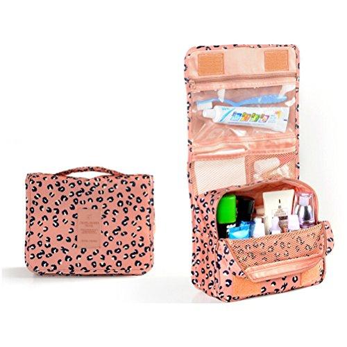 PIXNOR Imperméable à l'eau portable suspendus organisateur de poche lavage sac toilette sac voyage sac cosmétique