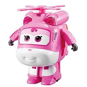 Alpha Animation & Toys Super Wings Dance & Transform Remote Control Dizzy Aeronave - Juguetes de Control Remoto (Alcalino, AAA, 1,5 V, 254 mm, 300 mm, 193 mm)