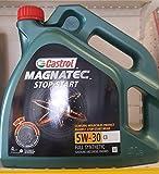 Castrol 159A5A Magnatec Stop-Start Motoröle für Autos, 5 W-30 C3, 4 L