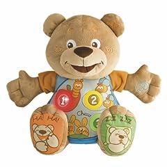 Idea Regalo - Chicco 60014 Teddy Conta con Me, Pupazzo Parlante Parlante Italiano e Inglese