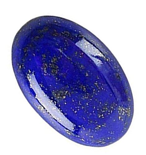 Lab Certified Natural Lapis Lazuli/Lajward Gemstone 5.60 Carat by AKELVI GEMS