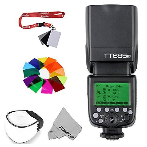fomito Godox tt685F GN601/8000s HSS 2,4G TTL Flash Speedlite für Fuji Kameras 0,1–2.S blitzfolgezeit 230Volle Leistung Blitze x-pro2x-t20x-t2X-T1X-Pro1x-t10E1x-a3x100F X100T