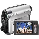 Sony DCR-HC51 Camcorder (miniDV, 40-fach opt. Zoom, 6,4 cm (2,5 Zoll) Display, Bildstabilisator)