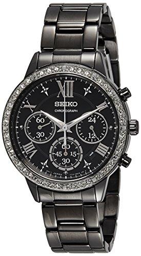 Seiko Analog Black Dial Women's Watch - SRW844P1