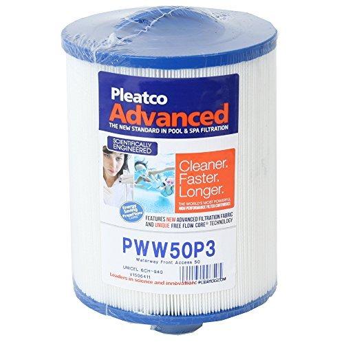 Cartouche filtrante cartouche Whirlpool Filtre à lamelles Pleatco PWW50P3