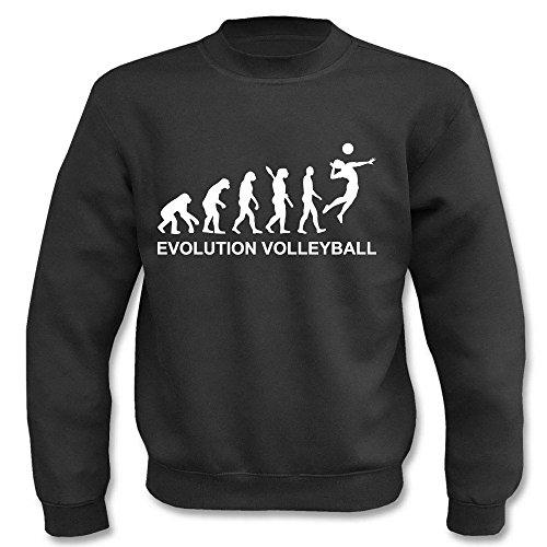 Pullover - Evolution Vollyball Schwarz