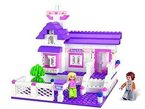 Sluban- Construcción Casa Girls 193 Piezas 33x24 cm, (SL0156)