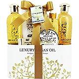 Gloss!, Set da regalo con prodotti da bagno all'olio di Argan, 6 pz., 1,2 kg