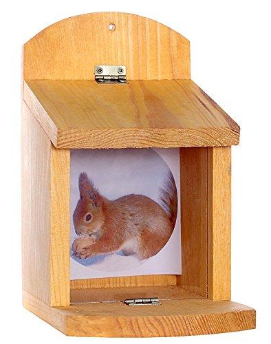 Futterhäuschen Futterhäuser Eichhörnchen-Futterstation Eichhörnchen Futterspender