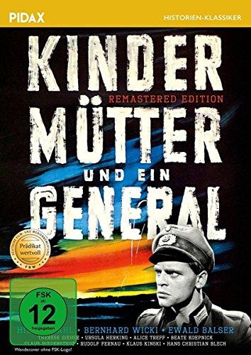 Kinder, Mütter und ein General - Remastered Edition / Preisgekrönter Spielfilm mit absoluter Starbesetzung und dem Filmprädikat