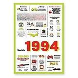 Tolle Geschenkidee: Jahreschronik 1994