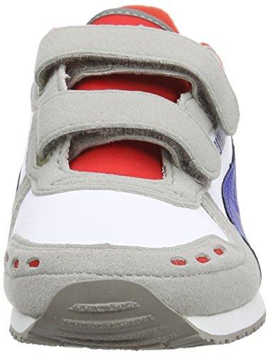 Puma Cabana Racer SL V Kids Unisex-Kinder Sneakers Grau (drizzle-white- ... 80211d48c8