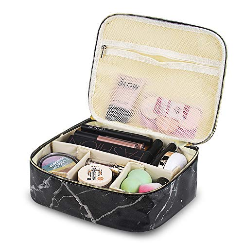 Color You Reise-Make-up-Tasche - Make-up-Organizer Train Case für Frauen, tragbare kosmetische Aufbewahrungskoffer - Make-up Tasche Organizer