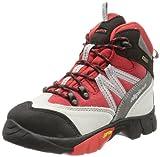 Alpina 680245, Unisex-Kinder Trekking- & Wanderstiefel, Rot (rot/grau), 33 EU