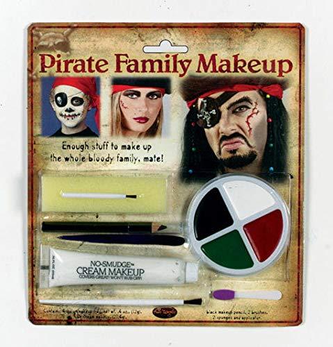 Piraten Family Make Up (Fluch Der Karibik Make Up)