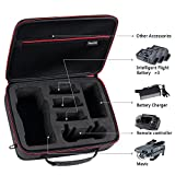 Smatree Carry Case for DJI Mavic Pro/Mavic Platinum,Fit for 3 Drone Batteries, Battery Charger Power Adapter and Remote Controller