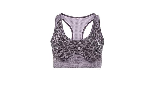 7a93eac9a5 ODLO Women Blackcomb Seamless Medium Sports Bra Women Running Clothes Sports  Bras Violet - Lilac L  Amazon.co.uk  Sports   Outdoors