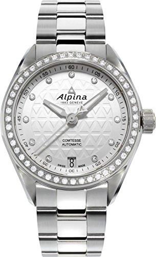 Alpina Geneve Comtesse Automatic Orologio automatico donna con diamanti autentici