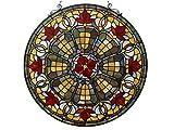 'Fine Art Beleuchtung Tiffany Fenster Panel, 24, 517Glas Schnitte