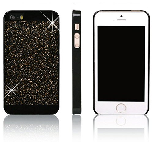 Vandot Smart Cover Housse Coquille Sac Coque Etui Case Hull pour Apple Iphone 4 4S Protection Coque Bing PC le Plastique Premium Luxe Diamant Strass Hull Shell Couvrir Couverture - Bleu Blue noir