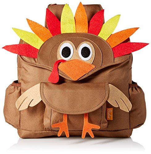 bixbee-kids-edition-turkey-pack-small-backpack-brown-red-yellow-orange-one-size