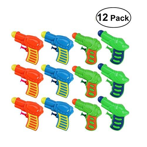 quirt Spielzeug Wasserspiel Badespielzeug für Schwimmbad Strand 12 Stück (zufällige Farbe) ()