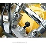 17.5mm-20.5mm Motorcycle Bike Fork Stem Yoke GPS Mount for Garmin Zumo 390LM