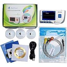 Heal Force PC-80B Monitor portátil portátil de ECG con cable de ECG de 3