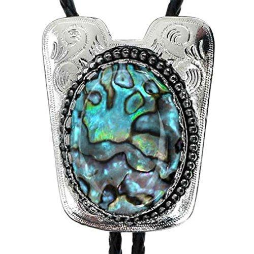 bolotie-teal-perla-di-pietra-piastra-di-metallo-argento-bolo-tie