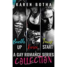 Commitment Collection Buckle Up, G-Force and Jump Start (Commitment, a gay romance series Book 7)