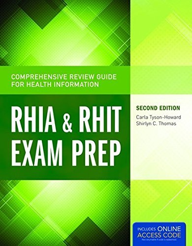 Comprehensive Review Guide For Health Information: RHIA & RHIT Exam Prep (Tyson-Howard, Comprehensive Review Guide for Health Informat) by Carla Tyson-Howard (2014-12-12)