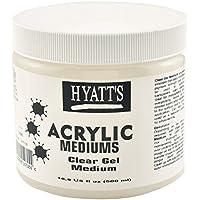 Hyatt's Acrylic Clear Gel Medium, 16 Ounce Bottle, 1 Each