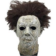 Yacn Movie Halloween 2018 Máscara de Michael Myers con Belleza de Cabello, Máscara de Cabeza