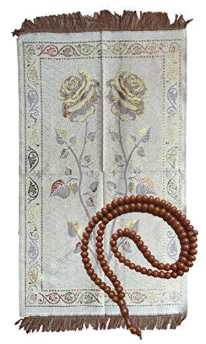nuovo-tappetino-e-komboloi-prayer-sottile-luce-islamica-hajj-mecca-travel-esotico-da-parete