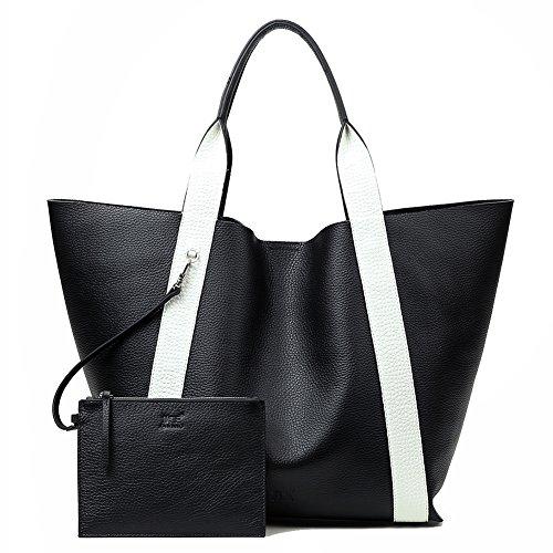 Echtes Leder Schultertasche Soft Hobo Bag Große Kapazität Einkaufstasche Full Grain Rindsleder Handtasche