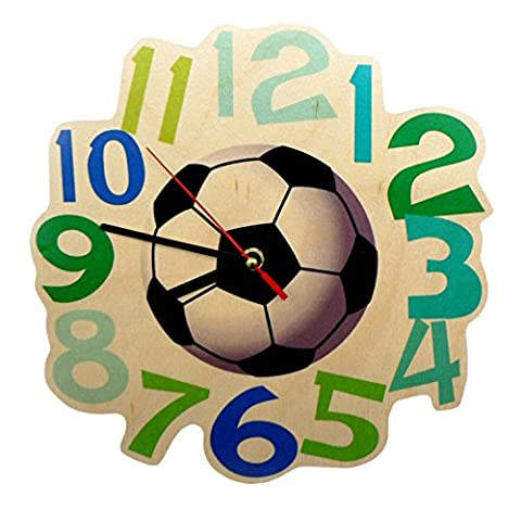 Hess 30000 Wooden Wall Quartz Soccer Watch Baby Toy